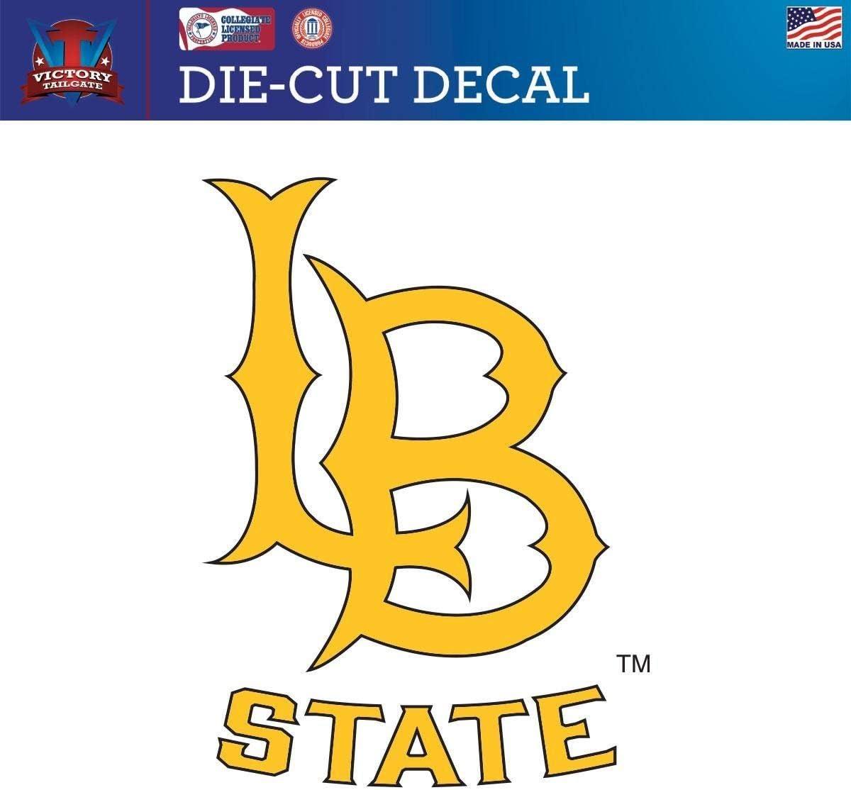 Victory Tailgate Cal State Long Beach 49ers CSULB Die-Cut Vinyl Decal Logo 1