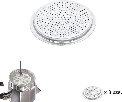 ORYX 5056114 Filtro Cafetera Aluminio Classic/Inducción 12 Tazas (3 Unidades): Amazon.es: Hogar