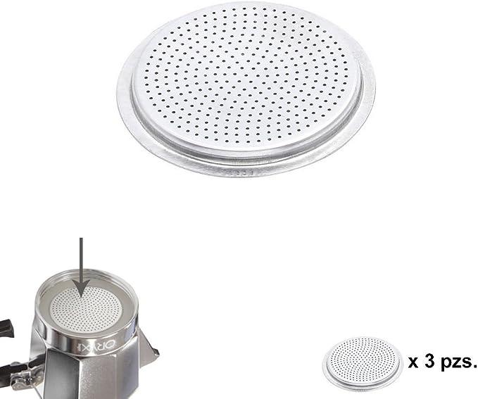 ORYX 5056114 Filtro Cafetera Aluminio Classic/Inducción 12 Tazas ...