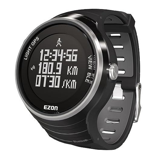 EZON G1 A01 Bluetooth GPS inteligente inteligente Running Sport reloj: Amazon.es: Relojes