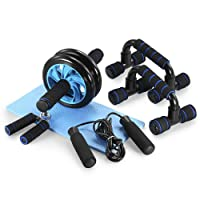 Deals on TOMSHOO 5-in-1 AB Wheel Roller Kit AB Roller Pro