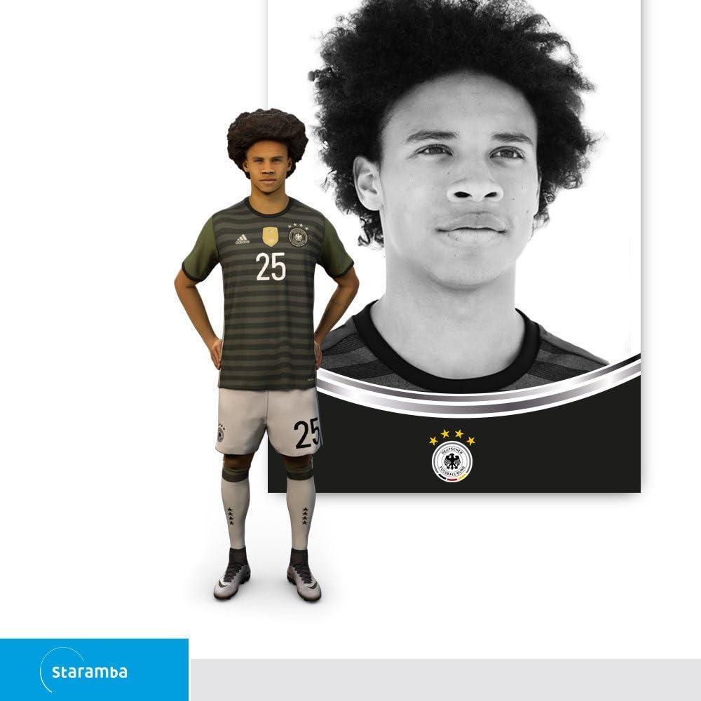 Staramba Leroy Sané figura 3D - DFB Ofensiva 2a Equipación 1:7 ...