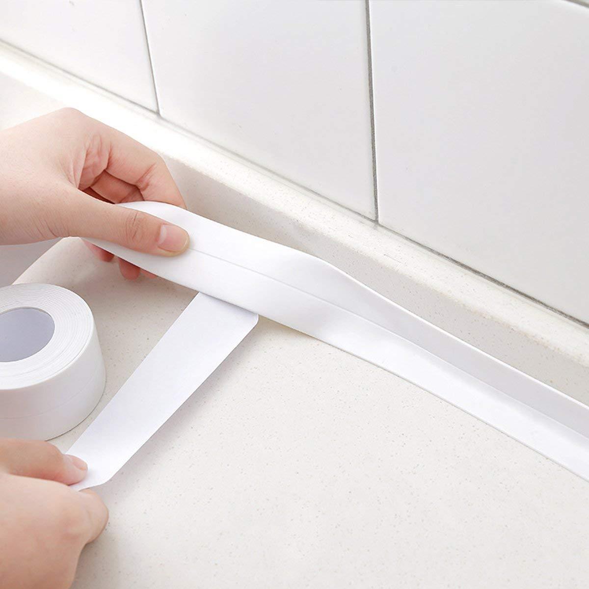 YFOX Guarnizione pieghevole impermeabile e resistente alla muffa per la cucina 3.2 metri 2 pezzi