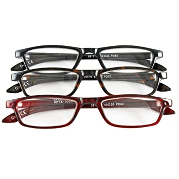 2119ec5ca04b Amazon.com  Classic Traditional Readers Half Eye Style Magnifying ...