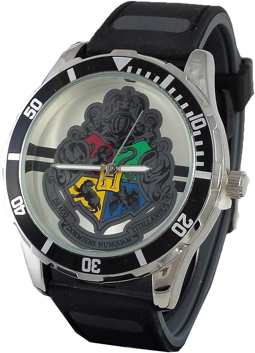 Harry Potter Men's Watch with Hogwart's Logo