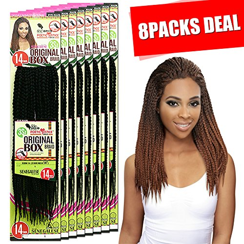 [MULTI PACKS DEAL] NEW INSPIRE BEYONCE BOX BRAID STYLE / ORIGINAL HAND-MADE BOX BRAID 14