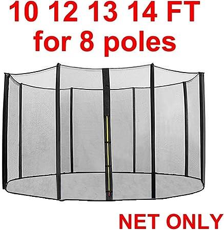 Filet de sécurité pour trampoline 6FT 8FT 10FT 12FT 13FT 14FT Barres non inclus