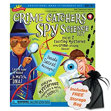 Brybelly TPOO-37 Crime Catchers Spy Science Kit