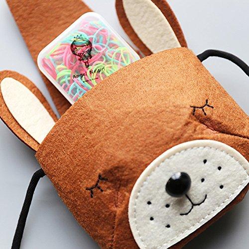 Single Shoulder Cute Small Girls Bag Bag Backpacks Fashion Storage Lovely Fox Feitengtd Orange Baby 1nzUz
