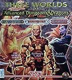 Three Worlds of Advanced Dungeons & Dragons (Al-Qadim: The Genie's Curse / Dark Sun: Shattered Lands / Ravenloft: Strahd's Possession)