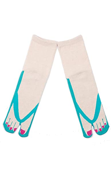 1b99333e91a NINJA SOCKS SANDAL TABI SOCKS Made in JAPAN (EMERALD) at Amazon Women s  Clothing store