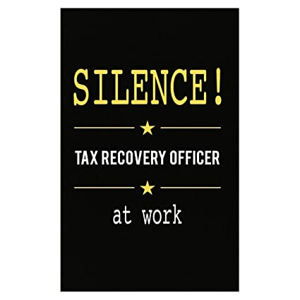 tax recovery officer at work poster