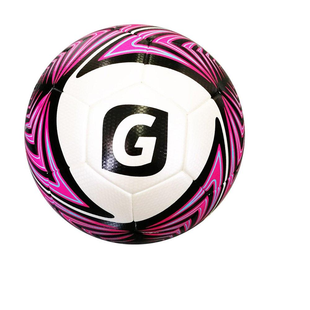Glory Sports公式サイズPU一致とCompetitionサーモボンディングサッカーボール B01HR7KT72 5|ローズレッド ローズレッド 5