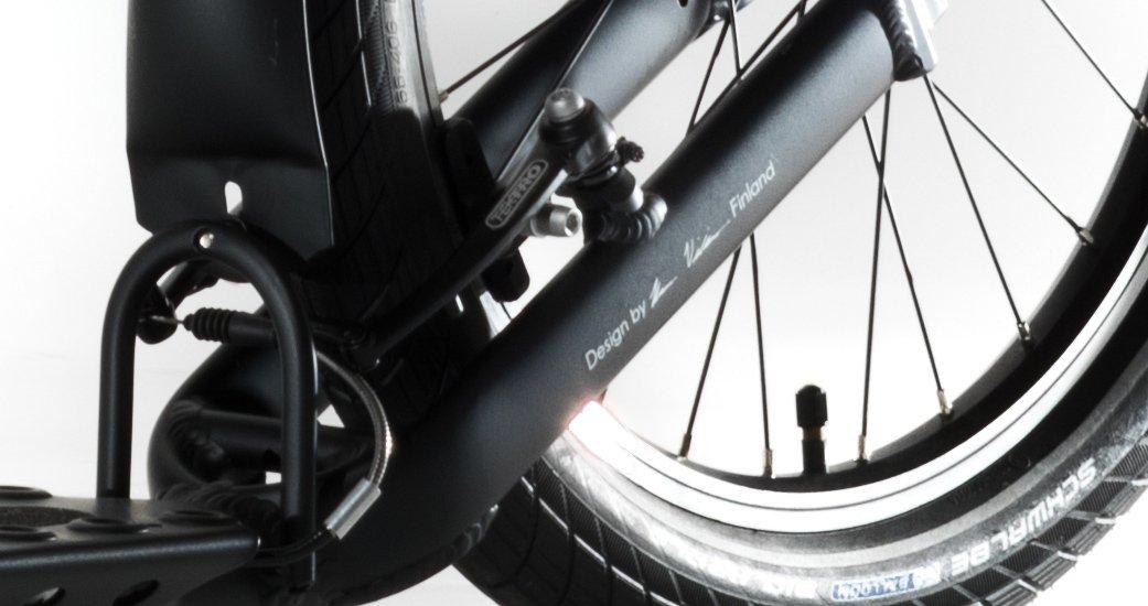 Tretroller Kickbike Cruise MAX, Schwarz: Amazon.es: Deportes ...