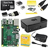 PC Hardware : CanaKit Raspberry Pi 3 Complete Starter Kit - 32 GB Edition