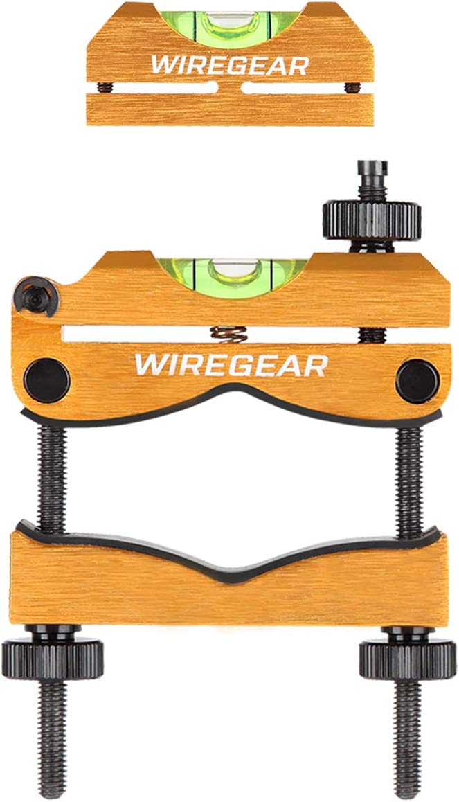 W WIREGEAR Scope Leveling Tool Scope Mounting Level Universal and Professional Tool with Heavy-Duty Designed and Stored in Case for Gunsmithing and Maintenance