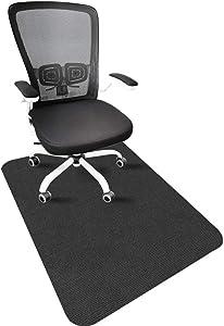 Chair Mat for Hardwood Floor, Office Chair Mat for Hardwood Floor, Desk Chair Mat for Hardwood Floor, Non-Slip, Cozy, Multipurpose, Packaged in Rolls (not Folded), 35