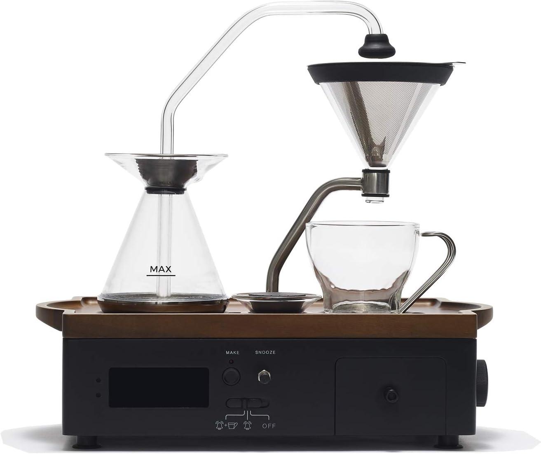 Barisieur コーヒー目覚まし時計 コーヒーメーカー ブラック
