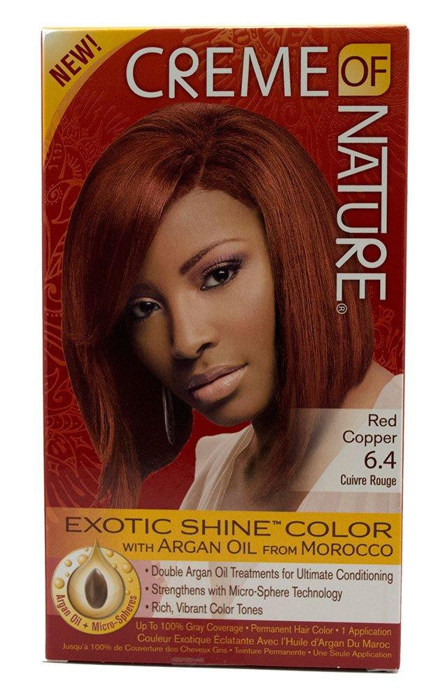 Amazon Creme Of Nature Exotic Shine Color Red Copper 64