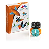 WowWee Magnaflex - Animals Set (14 pieces) - Flexible Magnetic Construction Kit
