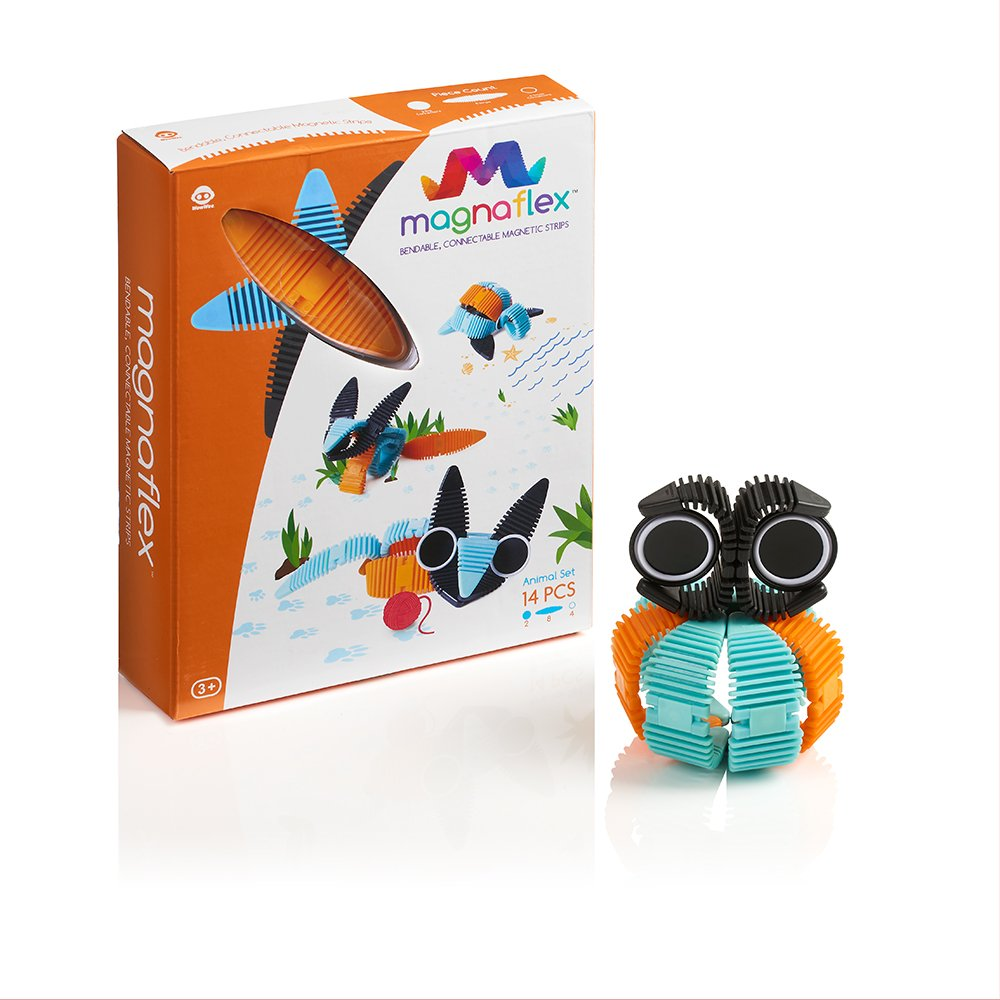 WowWee Magnaflex - Animals Set (14 pieces) - Flexible Magnetic Construction Kit Review