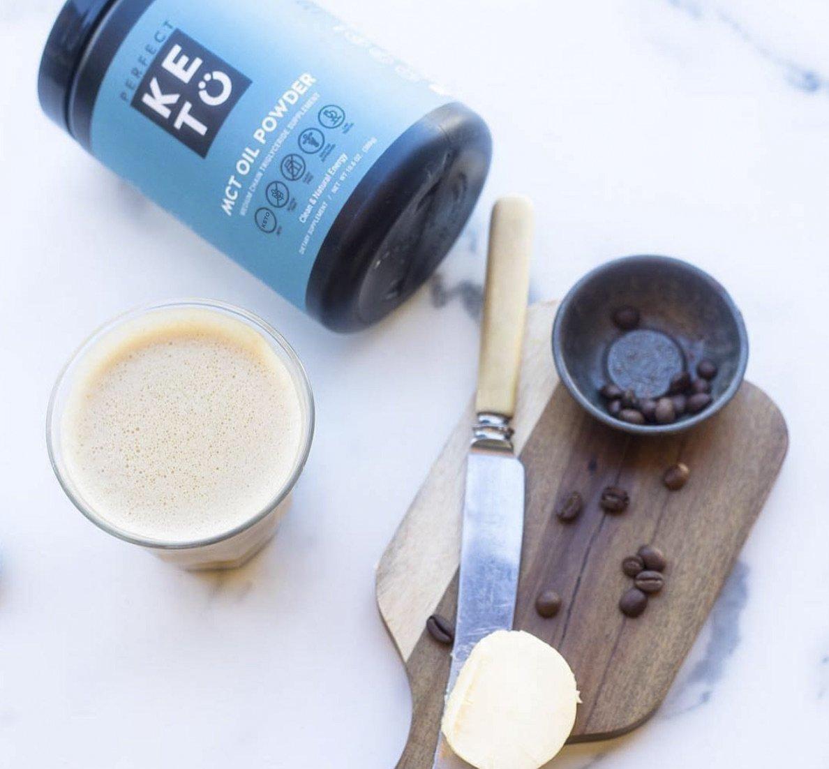 Perfect Keto MCT Oil Powder: Vanilla Ketosis Supplement (Medium Chain Triglycerides - Coconuts) for Ketone Energy - Paleo Natural Non Dairy Ketogenic Keto Coffee Creamer by Perfect Keto (Image #7)