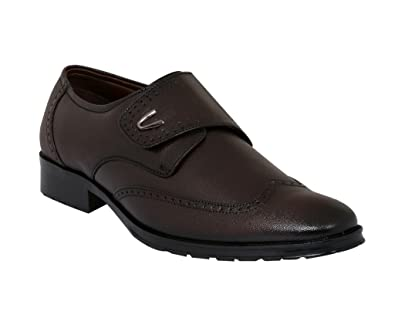 Formal Leather Shoes - Cherry Brown Colour: Buy Online at Low Prices ...