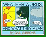 Search Weather Words and What They Mean