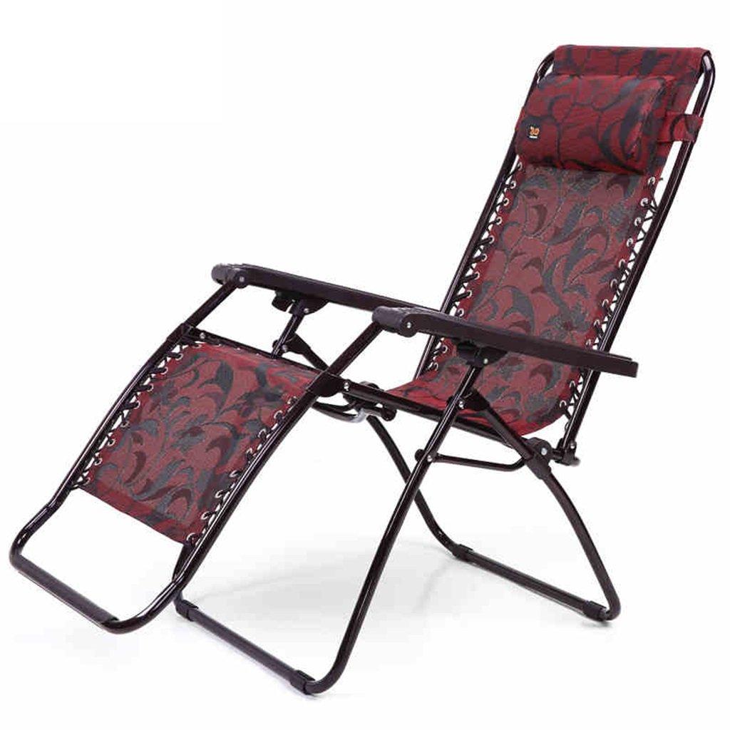 Klappstuhl Kampierender Stuhl Für Schwere Leute Mit Der Fußstütze, Die Stützende Reise-Fischen-Portable Seat-Metallliege-Klubsessel, Griff 210kg Faltend Faltet