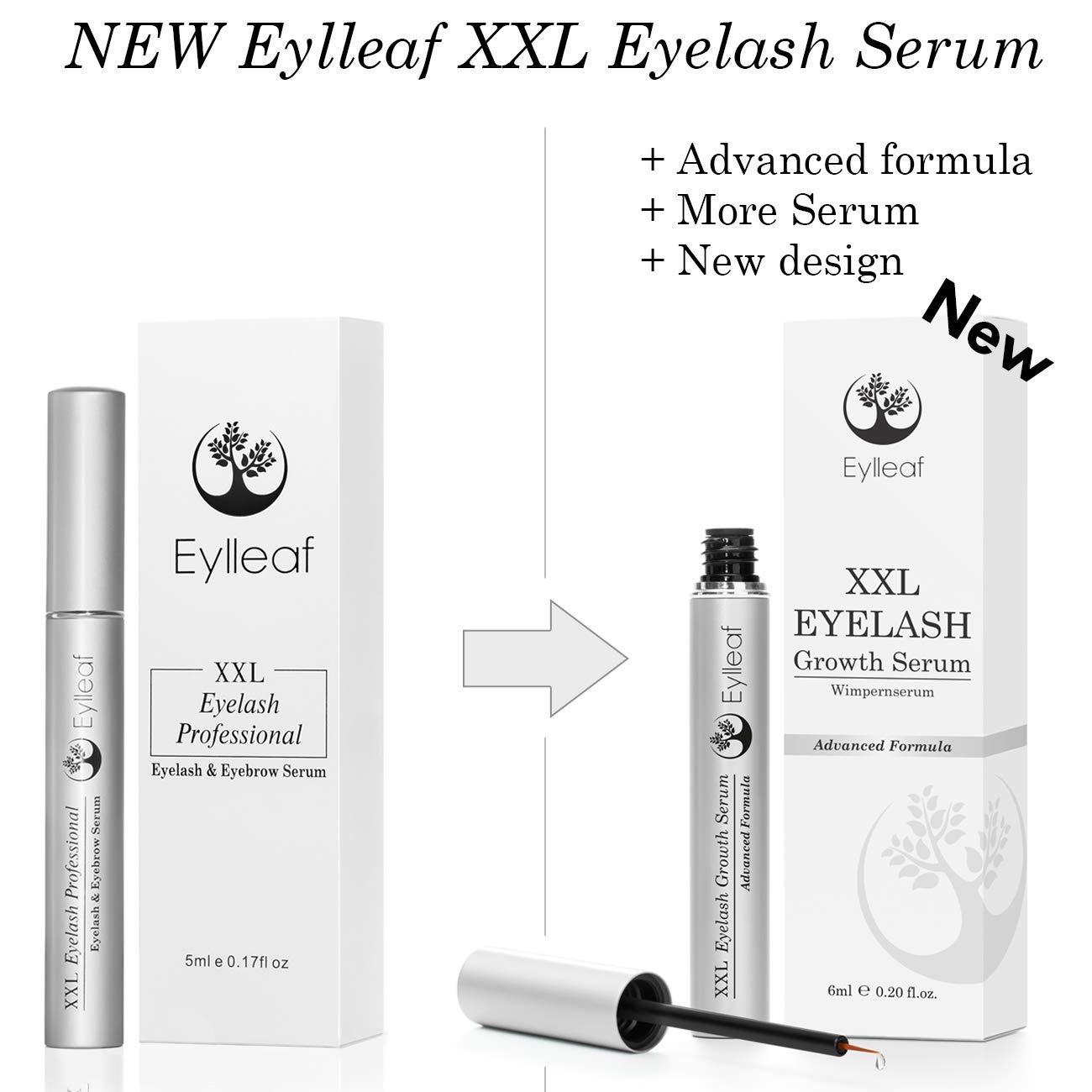 Eylleaf XXL sérum de crecimiento de pestañas 6 ml con ...