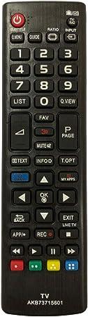 Control Remoto Compatible para LG 55LF592V Televisión/TV: Amazon.es: Electrónica