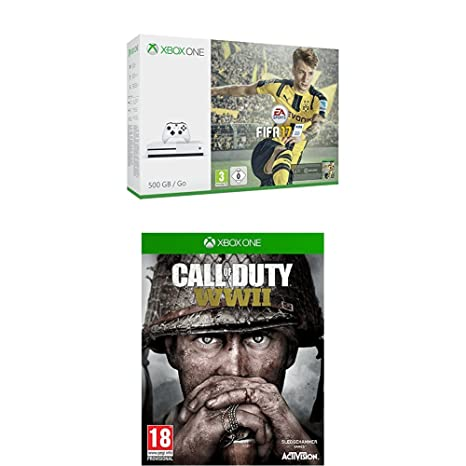 Xbox One S - Consola 500 GB + Fifa 17 + Call Of Duty WWII: Amazon ...