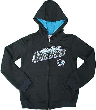 Outerstuff NHL Youth San Jose Sharks Performance Fleece Hoodie