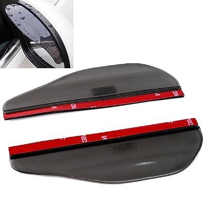 Amazon.com  Universal Black Car Rain Sun Visors for Citroen C2 C ... 42669c09d80