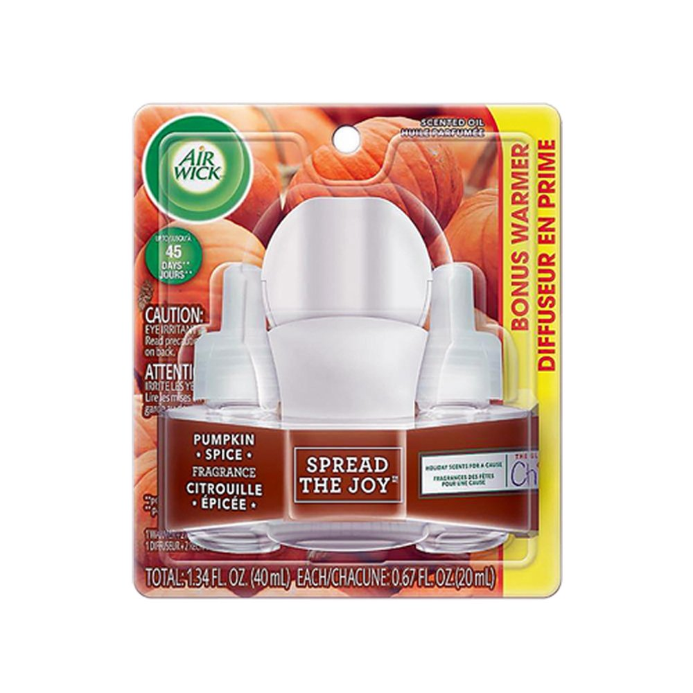 Air wick scented Oil Kit 1+2 Pumpkin Spice Air Wick ®