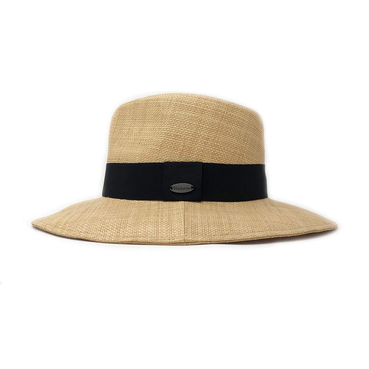 Wallaroo Hat Company Women's Morgan Fedora - Natural - UPF 50+, Modern Style by Wallaroo Hat Company (Image #2)