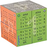 ZooBooKoo Educational Multiplication Tables 1-12 Cube Book