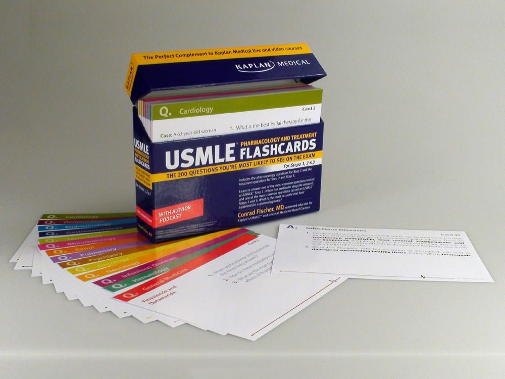 Medical and kaplan usmle treatment pdf pharmacology flashcards