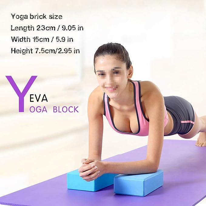 Amazon.com : CAJOLG Thick Yoga Mat Gym Mat Set, Yoga Fitness ...