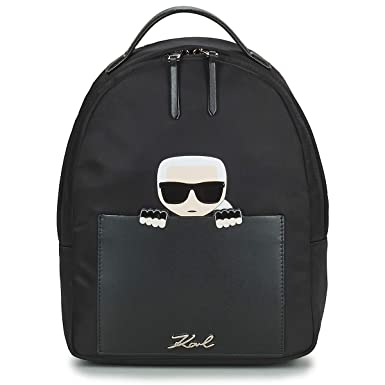 74ccce349cc09 Karl Lagerfeld K IKONIC SMALL Backpack Rucksäcke Damen Schwarz -  Einheitsgrösse - Rucksäcke  Amazon.de  Schuhe   Handtaschen
