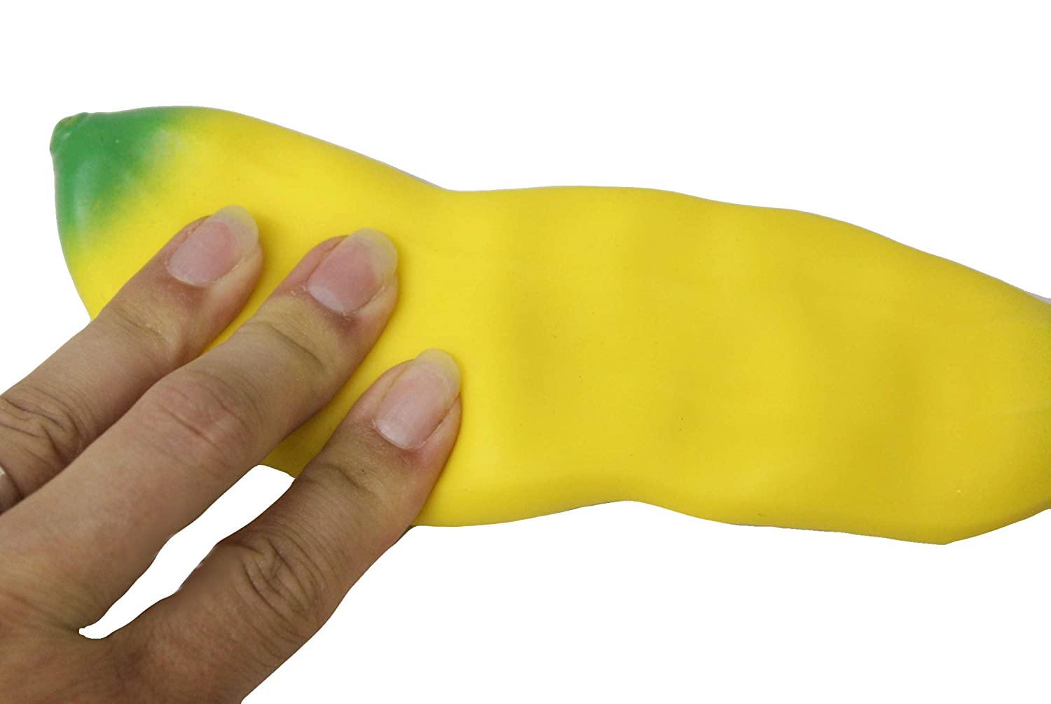 Squeeze Fidget Toy ADHD Special Needs Stress Squishy Banana Moldable Sensory