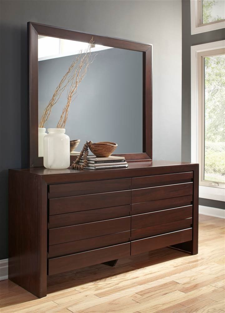 Modus Furniture Paragon 4-Drawer Storage Bed, Queen, Truffle