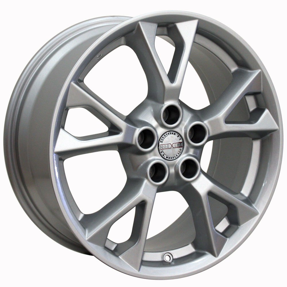 18x8 Wheel Fits Nissan, Infiniti - Nissan Maxima Style Silver Rim, Hollander 62582 by OE Wheels LLC (Image #4)