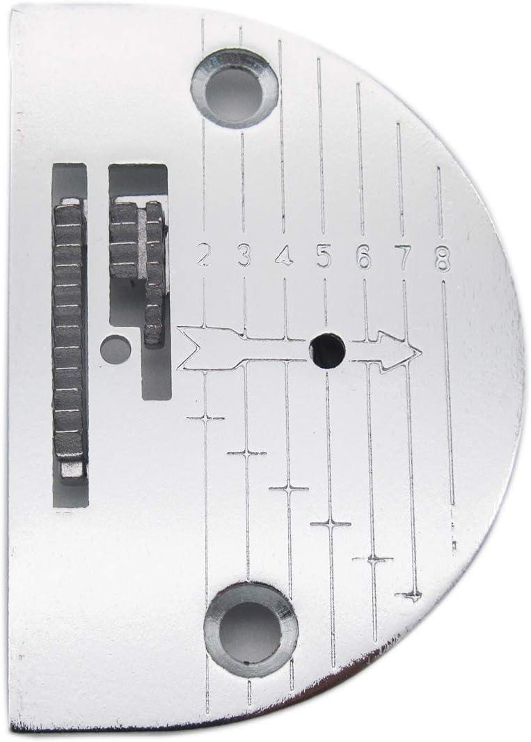 KUNPENG - 1conjunto # 125319LG+125261 máquina de coser diente Y PLACA DE AGUJA Ajuste para SINGER 15-75,15-88, 15-90 ...