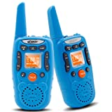 Amazon Price History for:Kids Walkie Talkie Set - Crony T-358 0.5W FRS/GMRS 22 Channel Two Way Radio Up to 3 Km Range for Children Camping Hiking(2PCS Blue)