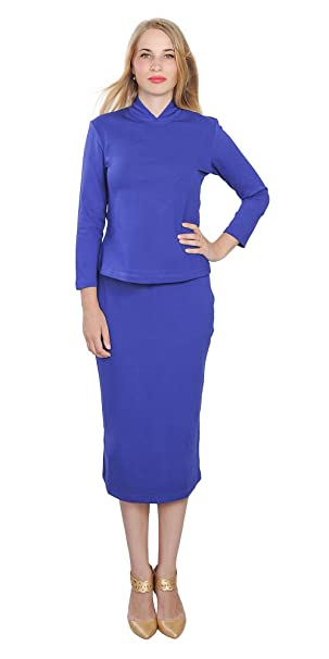 Amazon Com Marycrafts Womens Fitted Bodycon Pencil Work Business