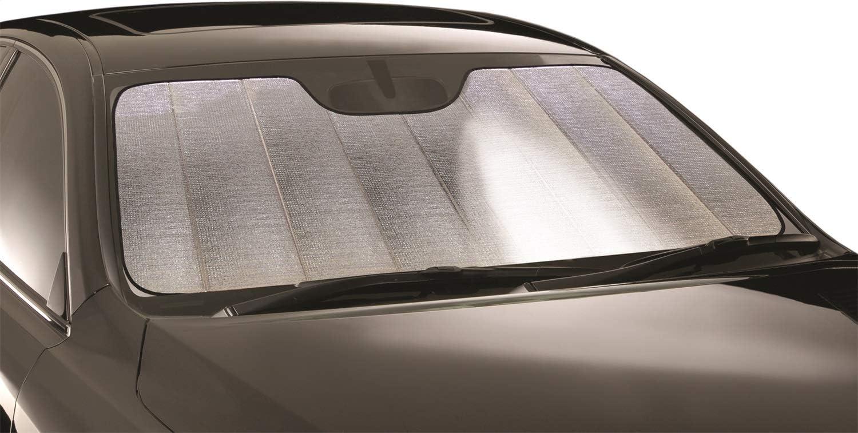 w//Sensor Intro-Tech NS-84A-P Silver Custom Fit Premium Folding Windshield Sunshade for Select Nissan Rogue Sport Models