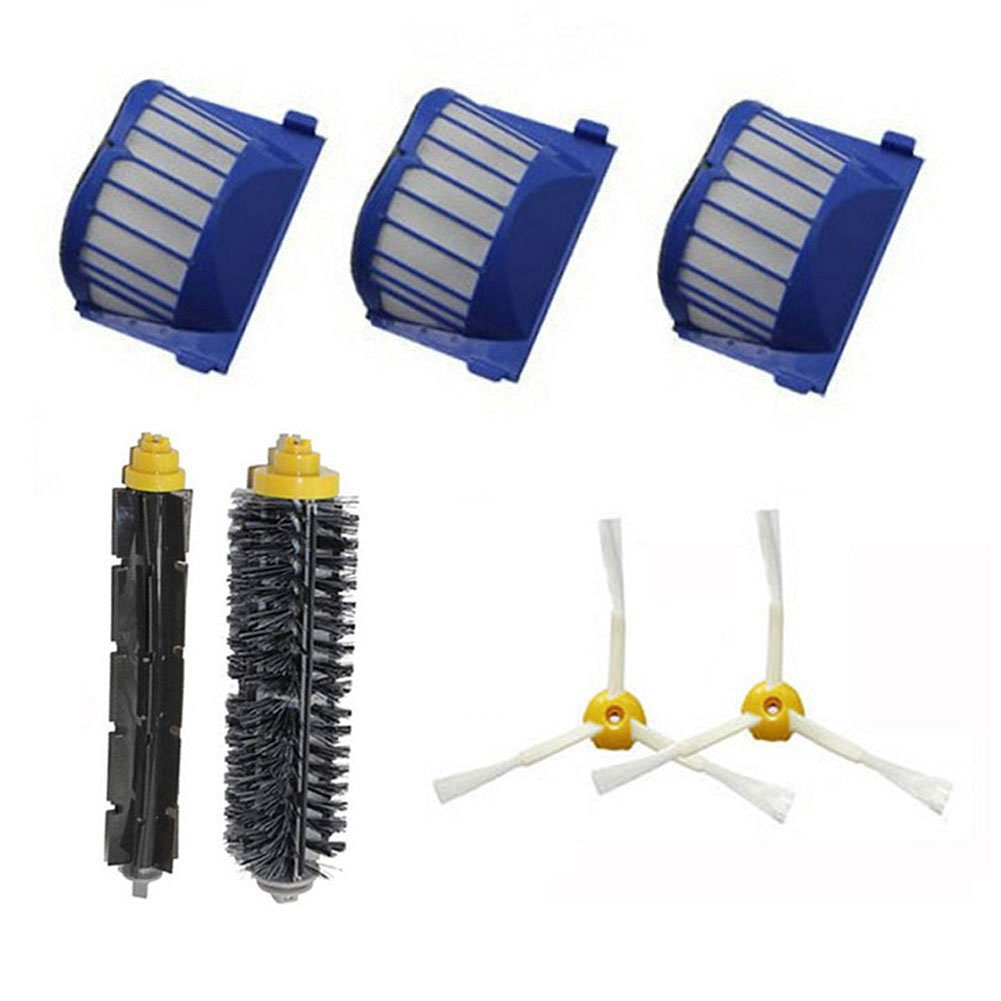 LOVE(TM) Hepa Filter Brush kit side brush for Robot 600 Series 610 620 630 650 660 Vacuum Cleaner Accessories