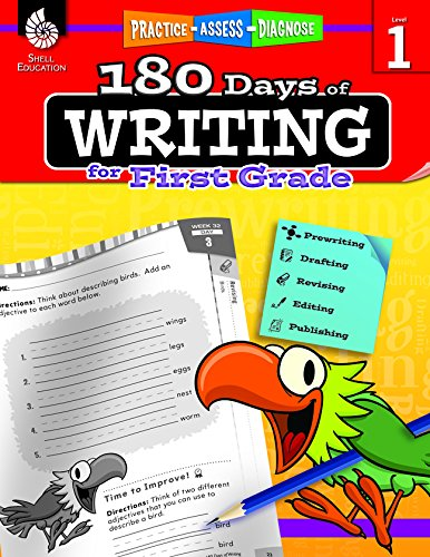 180 Days of Writing for First Grade (180 Days of Practice) cover