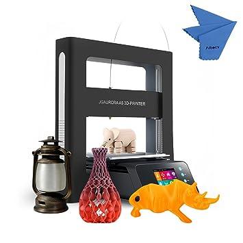 JGAURORA A5 Impresora 3D DIY con Marco de Metal Completo y Pantalla a Todo Color Tamaño de Impresión 305 * 305 * 320mm Soporte PLA / ABS / Madera
